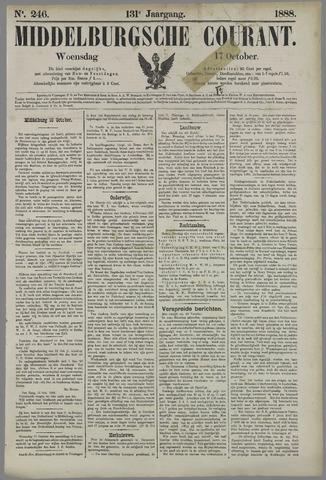 Middelburgsche Courant 1888-10-17