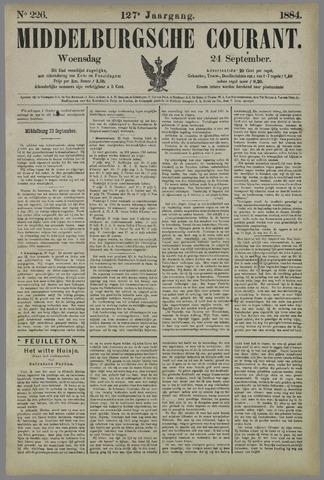 Middelburgsche Courant 1884-09-24