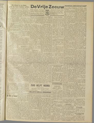 de Vrije Zeeuw 1945-02-20