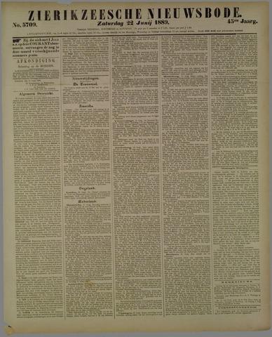 Zierikzeesche Nieuwsbode 1889-06-22