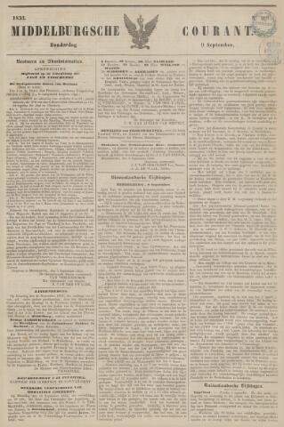 Middelburgsche Courant 1852-09-09