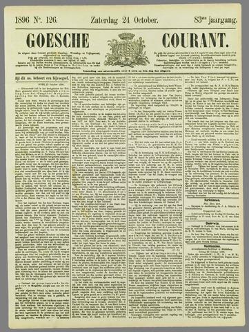 Goessche Courant 1896-10-24