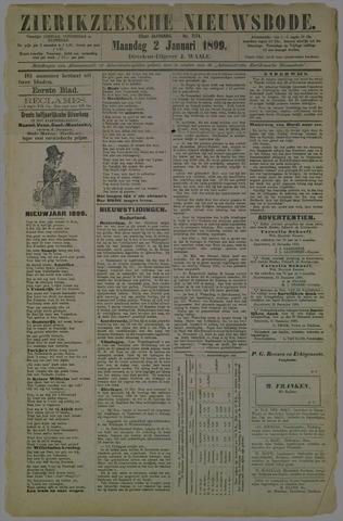 Zierikzeesche Nieuwsbode 1899