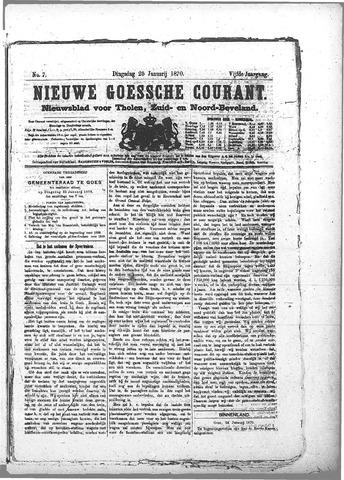 Nieuwe Goessche Courant 1870-01-25