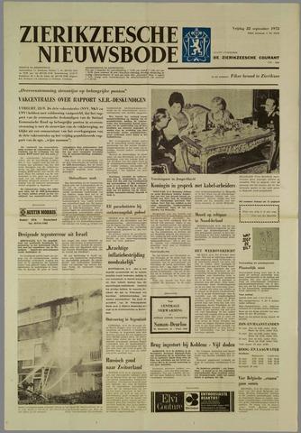 Zierikzeesche Nieuwsbode 1972-09-22