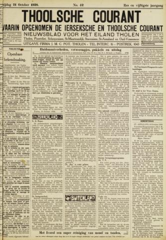 Ierseksche en Thoolsche Courant 1938-10-21