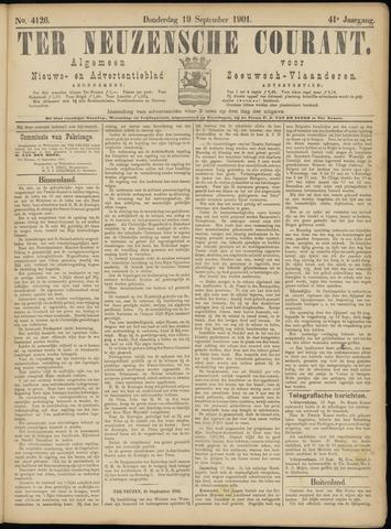 Ter Neuzensche Courant. Algemeen Nieuws- en Advertentieblad voor Zeeuwsch-Vlaanderen / Neuzensche Courant ... (idem) / (Algemeen) nieuws en advertentieblad voor Zeeuwsch-Vlaanderen 1901-09-19
