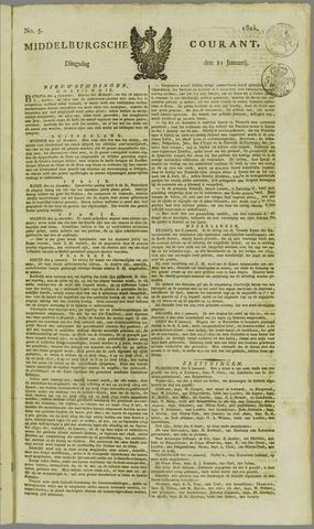 Middelburgsche Courant 1825-01-11