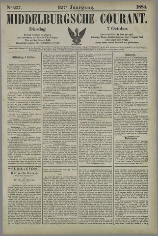 Middelburgsche Courant 1884-10-07