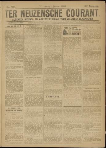 Ter Neuzensche Courant. Algemeen Nieuws- en Advertentieblad voor Zeeuwsch-Vlaanderen / Neuzensche Courant ... (idem) / (Algemeen) nieuws en advertentieblad voor Zeeuwsch-Vlaanderen 1926-01-06