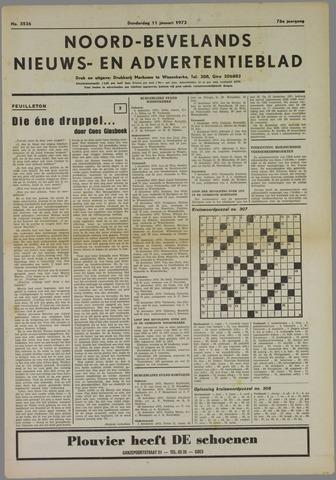 Noord-Bevelands Nieuws- en advertentieblad 1973-01-11