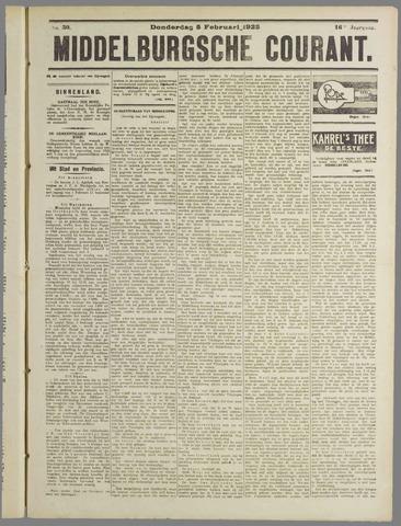Middelburgsche Courant 1925-02-05