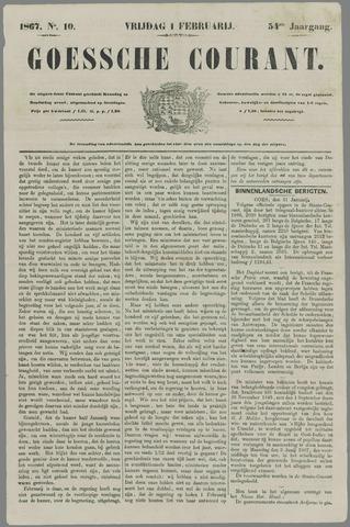 Goessche Courant 1867-02-01