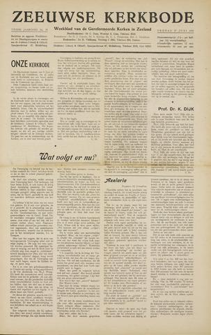 Zeeuwsche kerkbode, weekblad gewijd aan de belangen der gereformeerde kerken/ Zeeuwsch kerkblad 1955-06-17