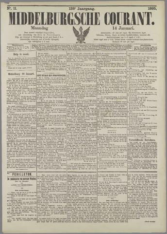 Middelburgsche Courant 1895-01-14