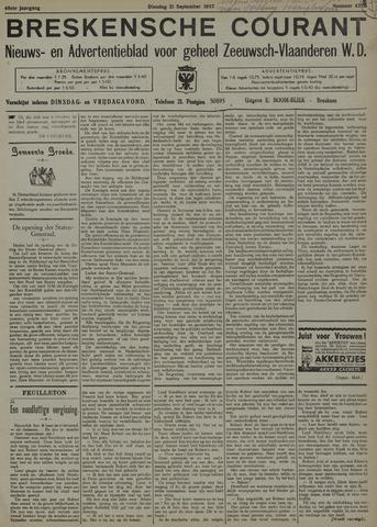 Breskensche Courant 1937-09-21