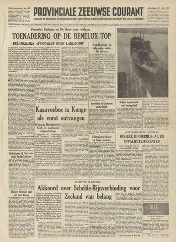 Provinciale Zeeuwse Courant 1960-02-22