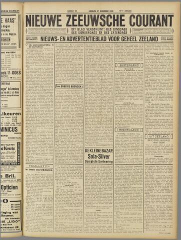 Nieuwe Zeeuwsche Courant 1932-12-27