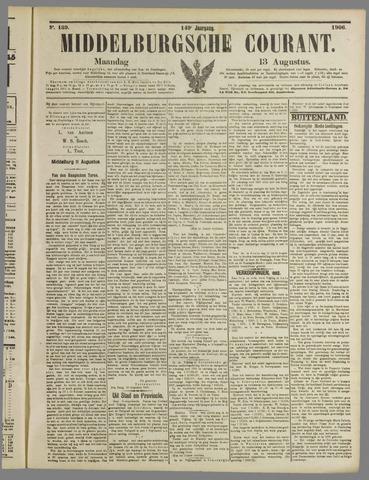 Middelburgsche Courant 1906-08-13