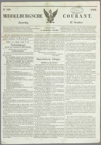 Middelburgsche Courant 1860-10-27