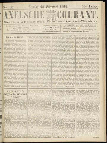 Axelsche Courant 1924-02-29