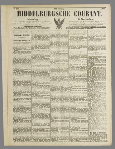 Middelburgsche Courant 1905-11-06