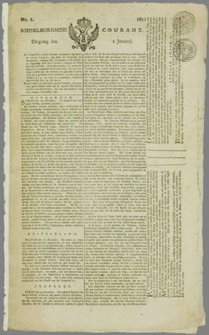 Middelburgsche Courant 1811-01-01