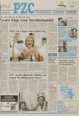 Provinciale Zeeuwse Courant 1992-08-04