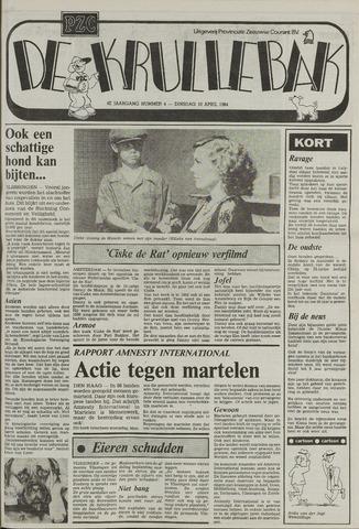 Provinciale Zeeuwse Courant katern Krullenbak (1981-1999) 1984-04-10