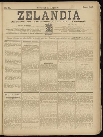 Zelandia. Nieuws-en advertentieblad voor Zeeland | edities: Het Land van Hulst en De Vier Ambachten 1902-08-20