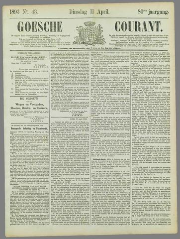 Goessche Courant 1893-04-11