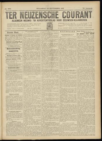 Ter Neuzensche Courant. Algemeen Nieuws- en Advertentieblad voor Zeeuwsch-Vlaanderen / Neuzensche Courant ... (idem) / (Algemeen) nieuws en advertentieblad voor Zeeuwsch-Vlaanderen 1932-09-28