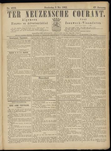 Ter Neuzensche Courant. Algemeen Nieuws- en Advertentieblad voor Zeeuwsch-Vlaanderen / Neuzensche Courant ... (idem) / (Algemeen) nieuws en advertentieblad voor Zeeuwsch-Vlaanderen 1902-05-08