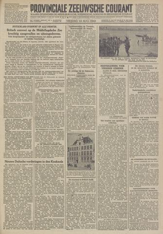 Provinciale Zeeuwse Courant 1942-08-14