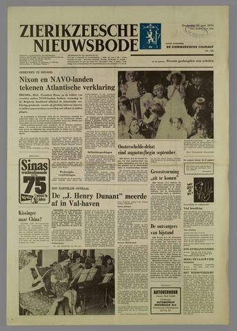 Zierikzeesche Nieuwsbode 1974-06-27