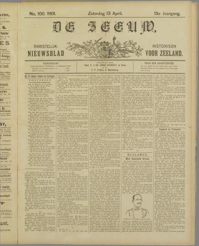 De Zeeuw. Christelijk-historisch nieuwsblad voor Zeeland 1901-04-13