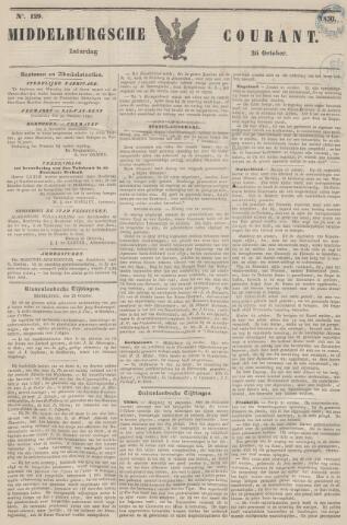 Middelburgsche Courant 1850-10-26