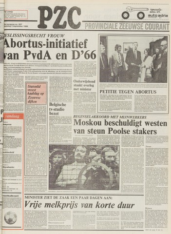 Provinciale Zeeuwse Courant 1980-09-03