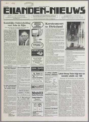 Eilanden-nieuws. Christelijk streekblad op gereformeerde grondslag 1989-12-15