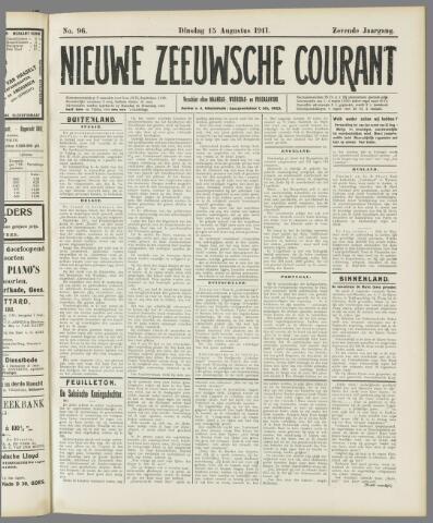 Nieuwe Zeeuwsche Courant 1911-08-15