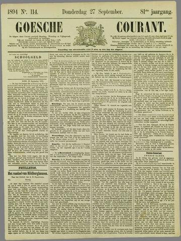 Goessche Courant 1894-09-27