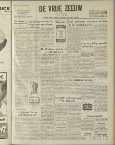 de Vrije Zeeuw 1959-06-05