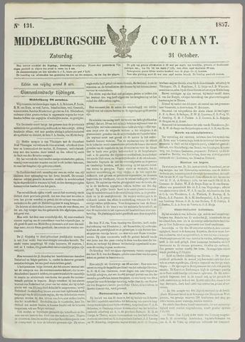 Middelburgsche Courant 1857-10-31