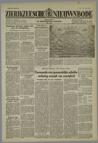 Zierikzeesche Nieuwsbode 1955-03-22