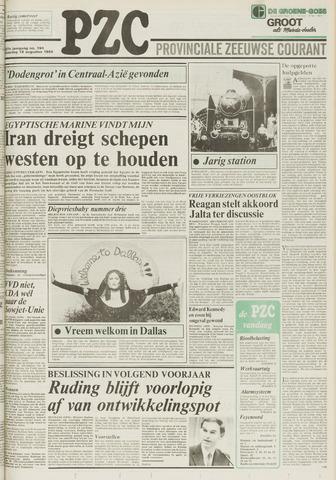 Provinciale Zeeuwse Courant 1984-08-18