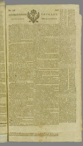 Middelburgsche Courant 1806-08-30
