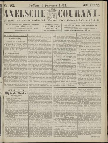 Axelsche Courant 1924-02-01