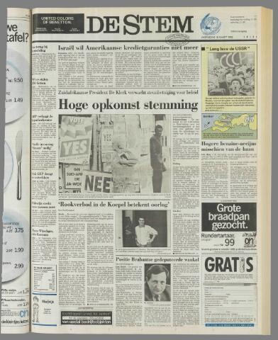 de Stem 1992-03-18