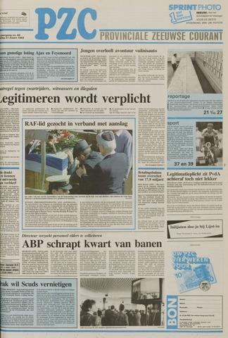 Provinciale Zeeuwse Courant 1992-03-21