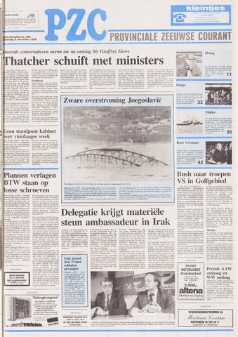 Provinciale Zeeuwse Courant 1990-11-03
